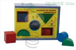 ALCANCÍA DE FIGURAS GEOMÉTRICAS