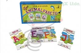 ANIMALFABETO EL ABC DE LOS ANIMALES