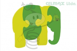 ANIMAL ARMABLE ELEFANTE