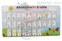 TABLA ABECEDARIO BRAILLE