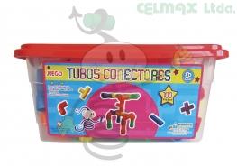TUBOS CONECTORES X 100 PIEZAS