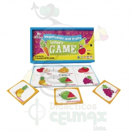 """VEGETABLES AND FRUITS"" LOTTERY GAME"